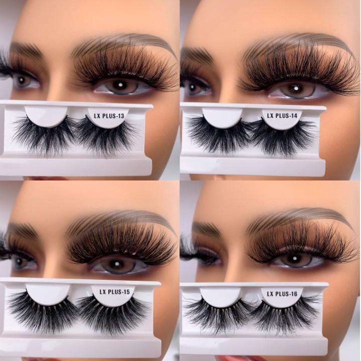 25M Luxury Plus Wholesale Dust Cover Eyelashes 3D Mink ...