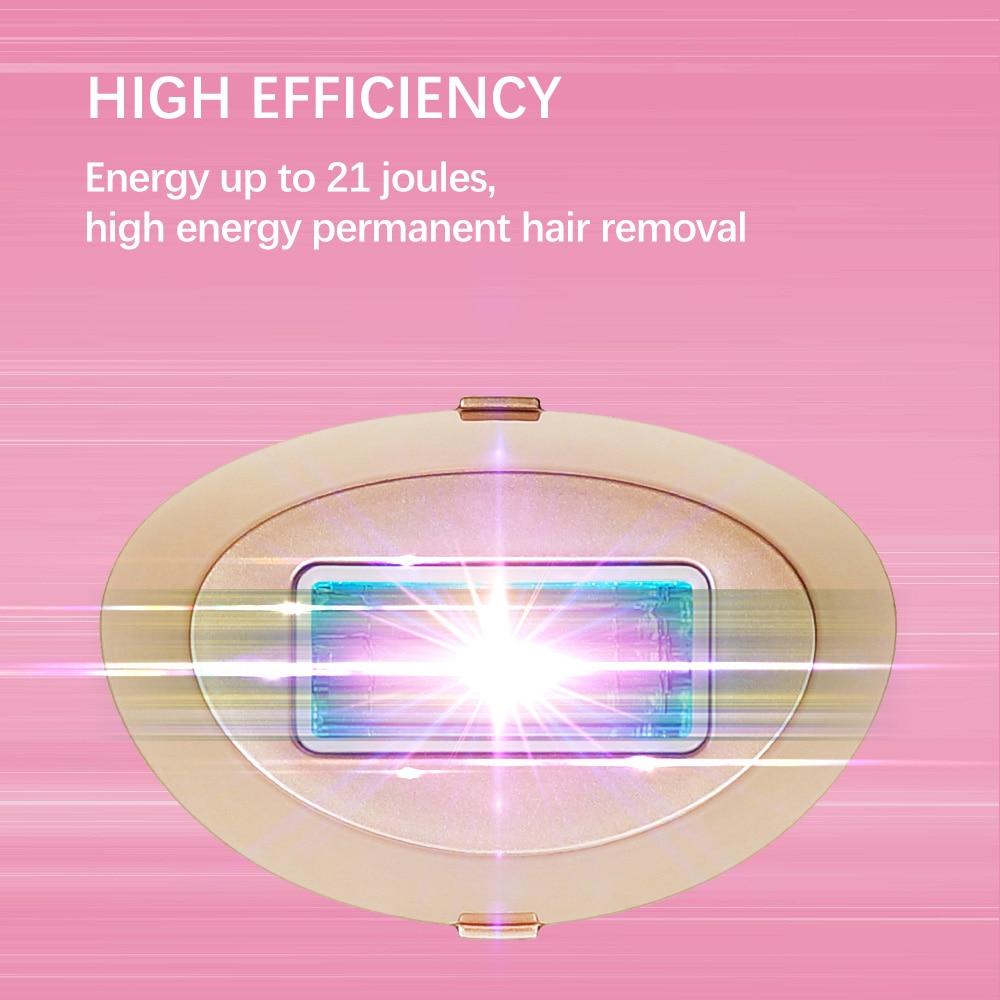 Laser Hair Removal 500000 Flashes MELSYA IPL Hair removal Epilator LCD Display Laser Permanent Bikini Trimmer Electric Depilador enlarge