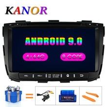 KANOR Octa Core-autoradio ip Android 9.0   4g 32 go de ROM 2 din, pour KIA Sorento 2013, GPS, WIFI, carte Bluetooth, Audio USB
