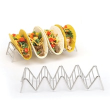 Grootste Leverancier Taco Houder Rvs Taco Stand Mexicaanse Voedsel Rek Schelpen 1-4 Slots Usa