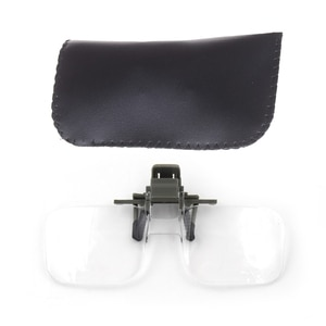 Magnifier Folding Handfree Clip On Clear Magnifying Glasses HD Lens Precise Eyeglasses Jewellery Appraisal Watch Repair Tool