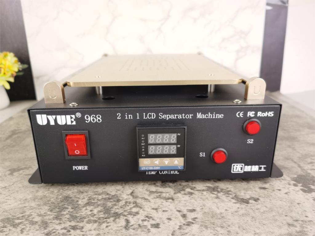 LCD Separator Tablet Built-in Vacuum Pump 600W Double Pump Split Screen Repair For Touch Screen 2 In 1 14 Inch Tools Uyue 968 enlarge