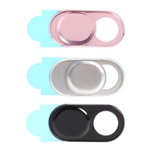 Aluminum Alloy Universal Phone Webcam Cover Shutter Camera Antispy Slider for Laptop PC Tablet Mobil