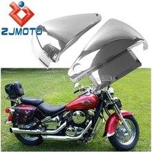 Protection plastique pour moto Kawasaki Vulcan   ABS protection latérale pour batterie VN400 400-1995 Vulcan 2004 VN800 800-1995