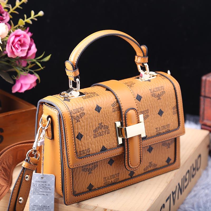 ريترو الطباعة حقيبة كروسبودي للنساء حقيبة يد فاخرة المرأة حقيبة جلد طبيعي المحافظ وحقائب اليد كيس باندوليير فام Gg