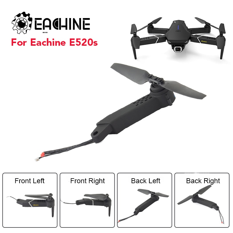 Original Eachine E520S Ax-is Arms with Motor Propeller RC Quadcopter Spare Parts For FPV Racing Dron