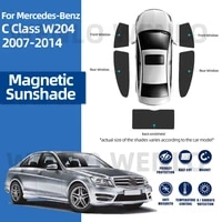 for mercedes benz c class w204 2007 2014 sun shade car sunscreen for front windows curtains windshield block uv