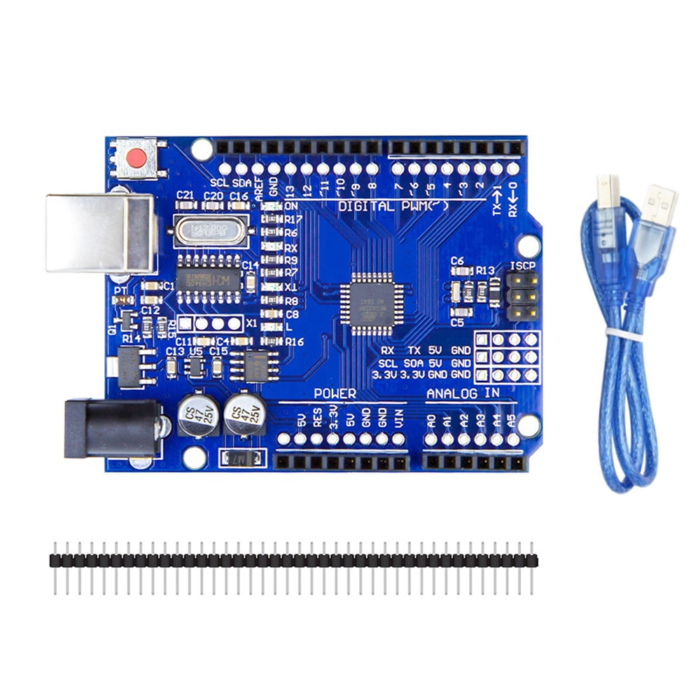 c300 bluetooth handle wifi rc control robot tank chassis car kit with uno r3 development board 4 road motor driver board diy Development Board Set for UNO R3 for CH340G Chip Upgraded Development Board with USB Cable for Win 7/8