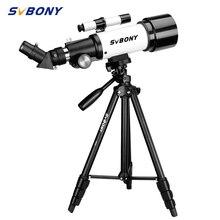 SVBONY SV501P teleskop 70mm przysłona 400mm,AZ góra, teleskopy dla dorosłych, początkujący miłośników astronomii, sprzęt dydaktyczny
