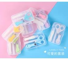 Ensemble de coupe-ongles 4 en 1 pour bébé, combinaison de limes de sécurité, Kits de soins de santé