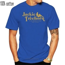 Jackie Treehorn Produktionen T-shirt The Big Lebowski Baumwolle Kurzarm S-3XL T-Shirts Rundhals Mens Big Size Tees