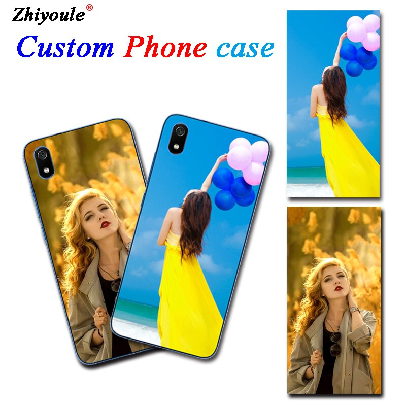 DIY Personalized custom photo Customize printing your design picture cover case For ZTE Blade L7 L 7 S7 S 7 V9 V8 Pro Lite Mini