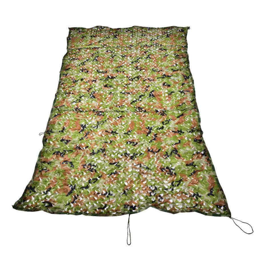 Red de camuflaje de 2*3M, portátil, con hojas de camuflaje, cubierta de camuflaje, equipo de avistaje de aves para caza al aire libre, accesorios