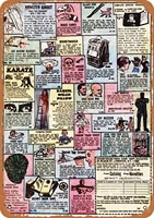 12x8 inches metal vintage funny tin sign 1972 comic books novelties