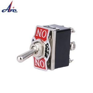 15A 250V 20A 125V AC ON/OFF 2 Position 3Way TEN1021 SPST Heavy Duty Rocker Toggle Switches with Waterproof Cover Cap