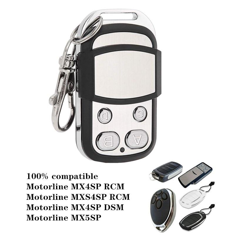 Управление гаражом для Motorline MX4SP RCM / MXS4SP RCM / MX4SP DSM / MX5SP 433,92 МГц передатчик управления воротами