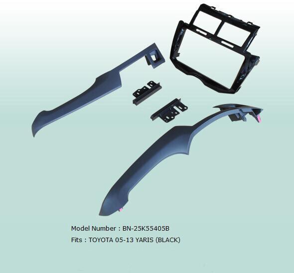 سيارة Fascias ستيريو لوحة الصوت الملاحة الإطار داش عدة ل يارس 2005 2006 2007 2008 2009 2010 2011 2012 2013