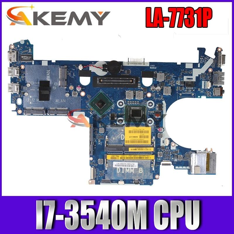 QAM00 LA-7731P I7-3540M для Dell latitude E6230 материнская плата для ноутбука CN-0WYWKH 0WYWKH материнская плата