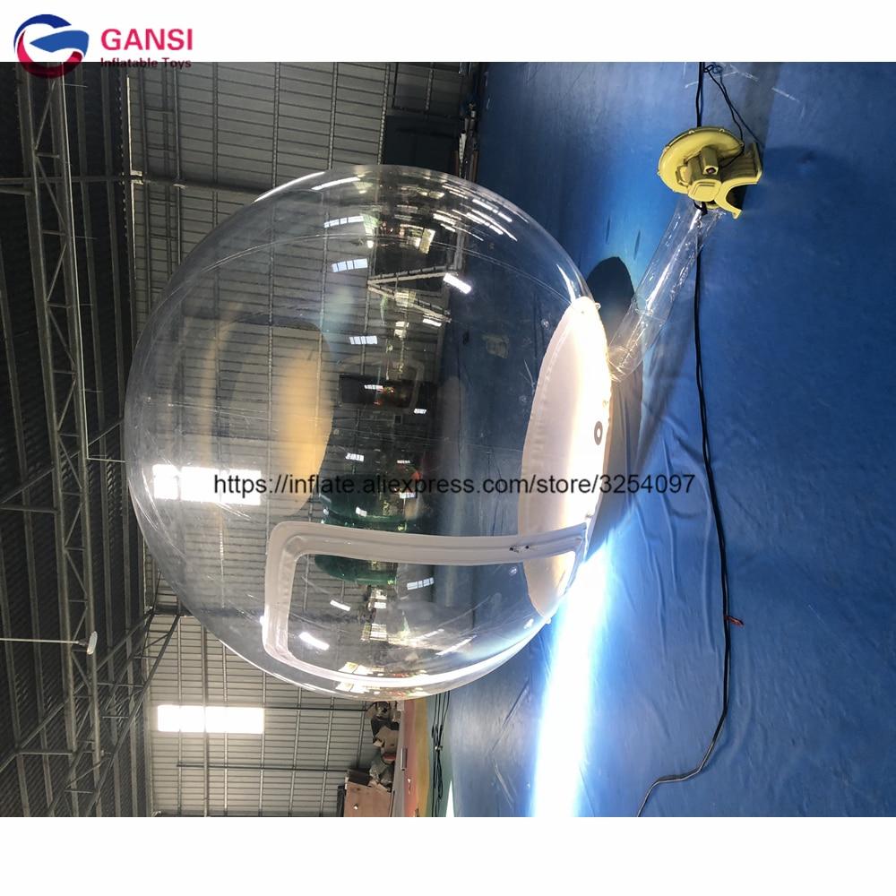 Carpa inflable transparente de la bóveda iglú del envío gratis con el soplador de aire
