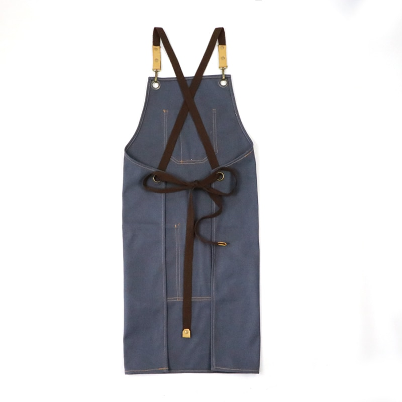 Thick Canvas Apron Durable Promotion Gift Garden Restaurant Working Chef Aprons Tooling enlarge