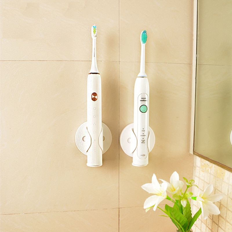 AliExpress - Creative Electric Toothbrush Wall-Mounted Holder Bathroom  Space Saving Accessories Xiaomi /Soocas Electric Toothbrush Holder