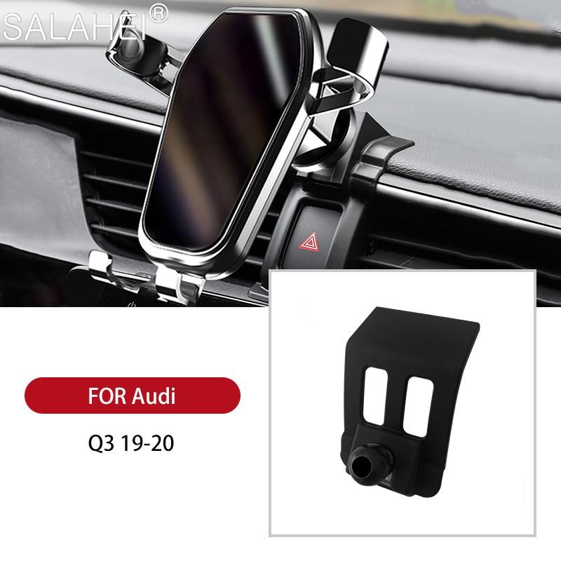 GPS гравитационный Автомобильный держатель для телефона на магните мобильный телефон держатель для Audi Q3 2019 2020 автомобильный держатель телеф...
