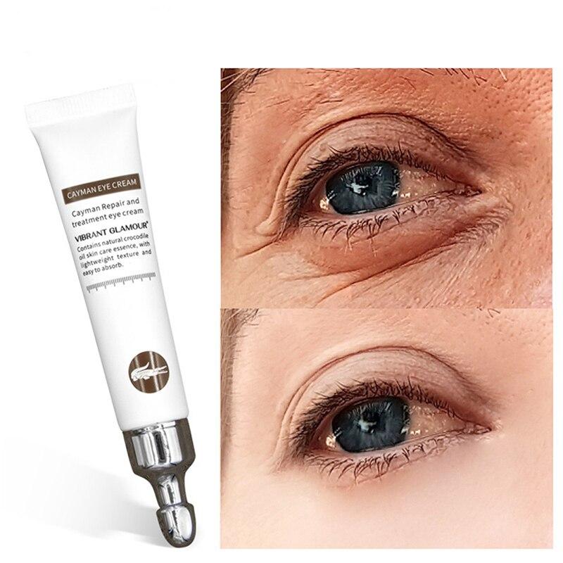 Vibrante Glamour Instantâneo Remover Eyebags 20g Crocodilo Anti Rugas Creme Lifting Firming Remover Linhas Finas Creme Para Os Olhos Círculo Escuro