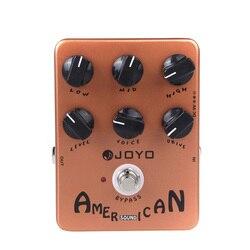Joyo JF-14 som americano guitarra amplificador simulador pedal de efeito