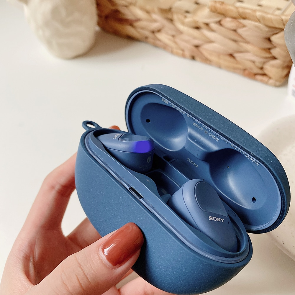 Earphone Accessories Charging Box Coque Cover Case For  Hard Shell with Anti-lost Hook enlarge
