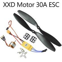 Moteur sans balais nouveau Sida XXD A2212 KV930/1000/1400/2200 30A ESC + 1045 combinaison de puissance à palettes