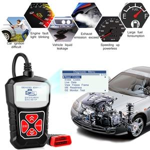 Image 5 - Obd2 сканер для автомобильной диагностики сканер для Авто obd 2 Автомобильный Универсальный Obdii считыватель кодов Сканер