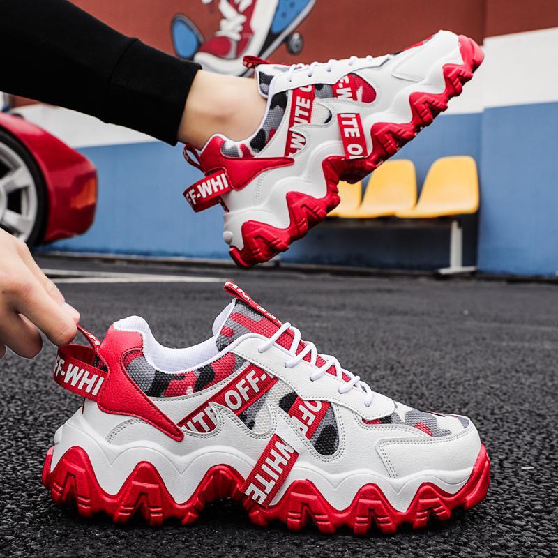 Sooneeya جديد أربعة مواسم الشباب موضة أحذية الرجال عارضة Ins الساخن بيع أحذية رياضية الرجال جديد الملونة أبي الأحذية الذكور كبيرة الحجم