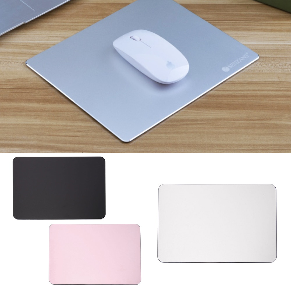 New Arrival Slim Elegant Anti-Slip Aluminum Alloy Computer Gaming Mouse Pad Mat Mousepad Ultra-thin Mice Mat On Desk,Bed,Sofa new arrival slim elegant anti slip aluminum alloy computer gaming mouse pad mat mousepad