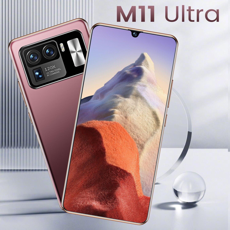 هاتف Mi 11 Ultra 6.7Inch 8GB 256GB الهواتف الذكية الجديدة 16MP + 32MP أندرويد 10 6800mAh عشرة النواة حقا MTK6889 4G 5G ثنائي الشريحة النسخة العالمية