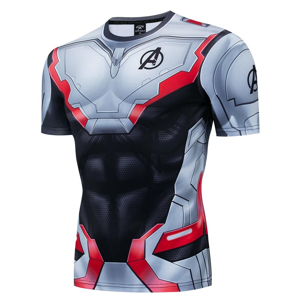 Camiseta Spiderman 3D, camiseta de Capitán América, guerra Civil, hombres, vengadores, manga corta, raglán, estilo deportivo