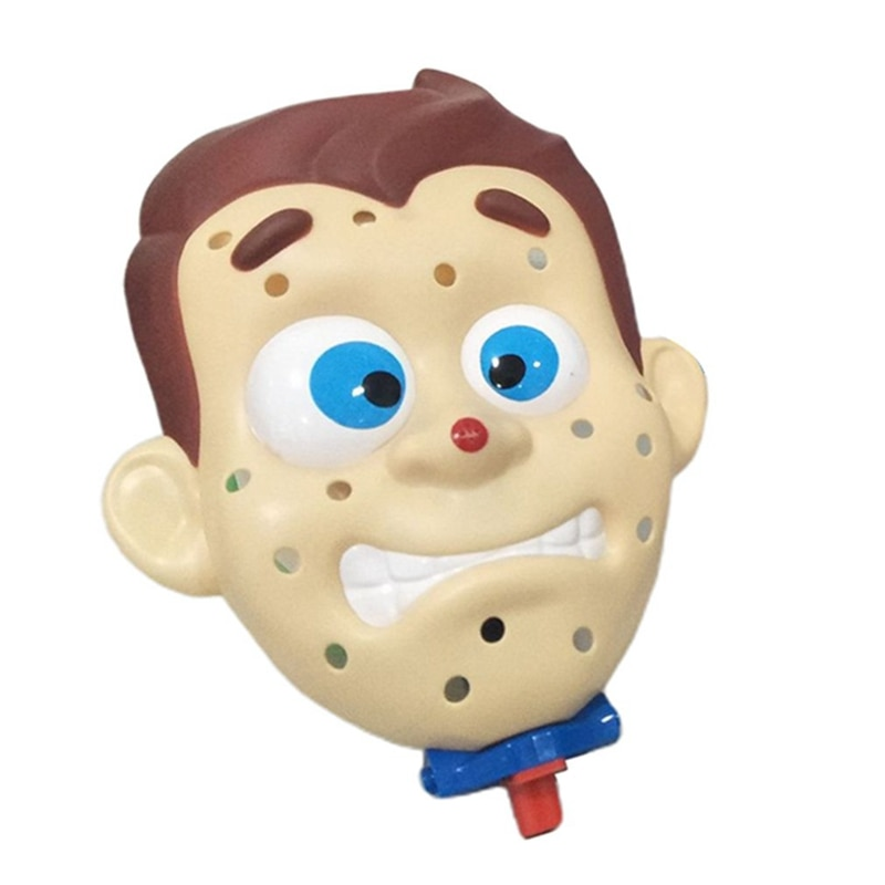 Novelty Toys Simulate Face Shape Squeeze Acne Toy Popping Pimple Parent-Child Board Game Funny Family Party Games enlarge