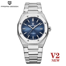 2021 New PAGANI Design Top Brand Men's Automatic Mechanical Watch Stainless Steel 100m Military Wate