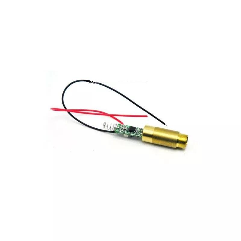 1235 мм промышленный латунь 532 нм 200 мВт 3,7-4,2 В зеленый лазер точка модуль диод w% 2F драйвер 26% пружина