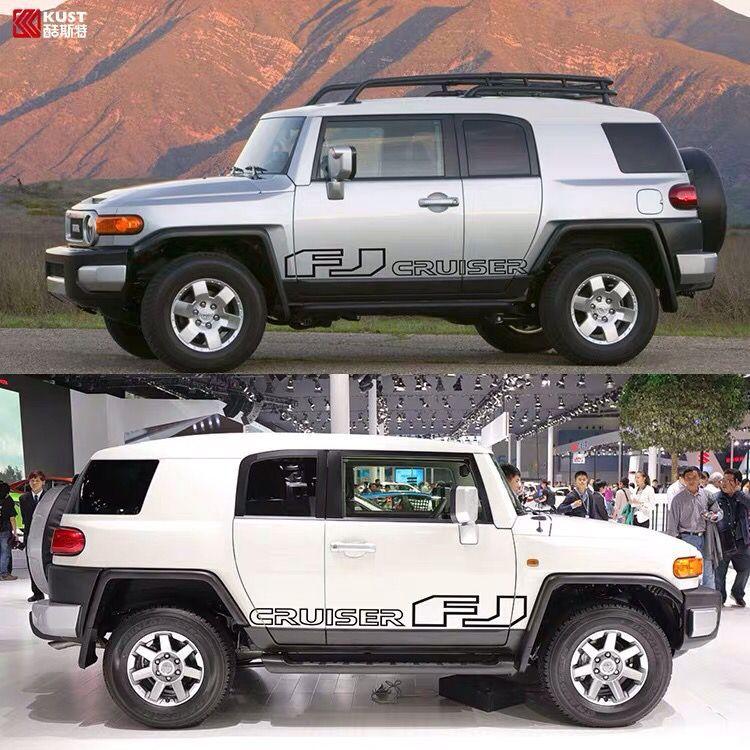 Para Toyota Land Cruiser FJ pegatinas de coche decoración de apariencia FJ Land Cruiser personalidad dynamic Body apariencia pegatinas