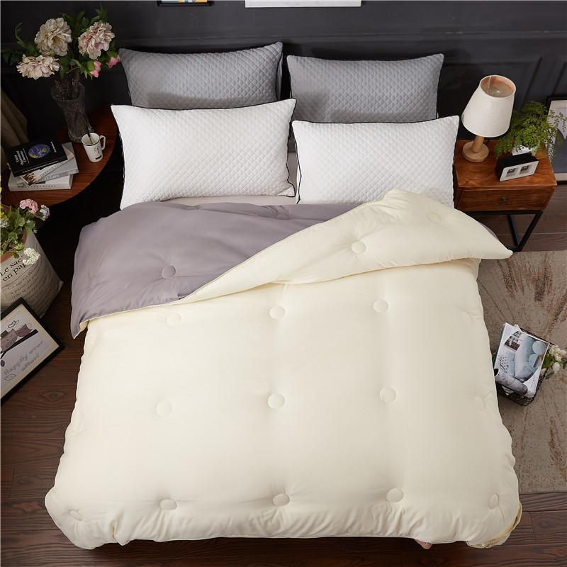 24 seda natural comforter luxo amoreira edredon enchimento cobertor de seda inverno verão cama colchas enchimento rei rainha gêmeo tamanho