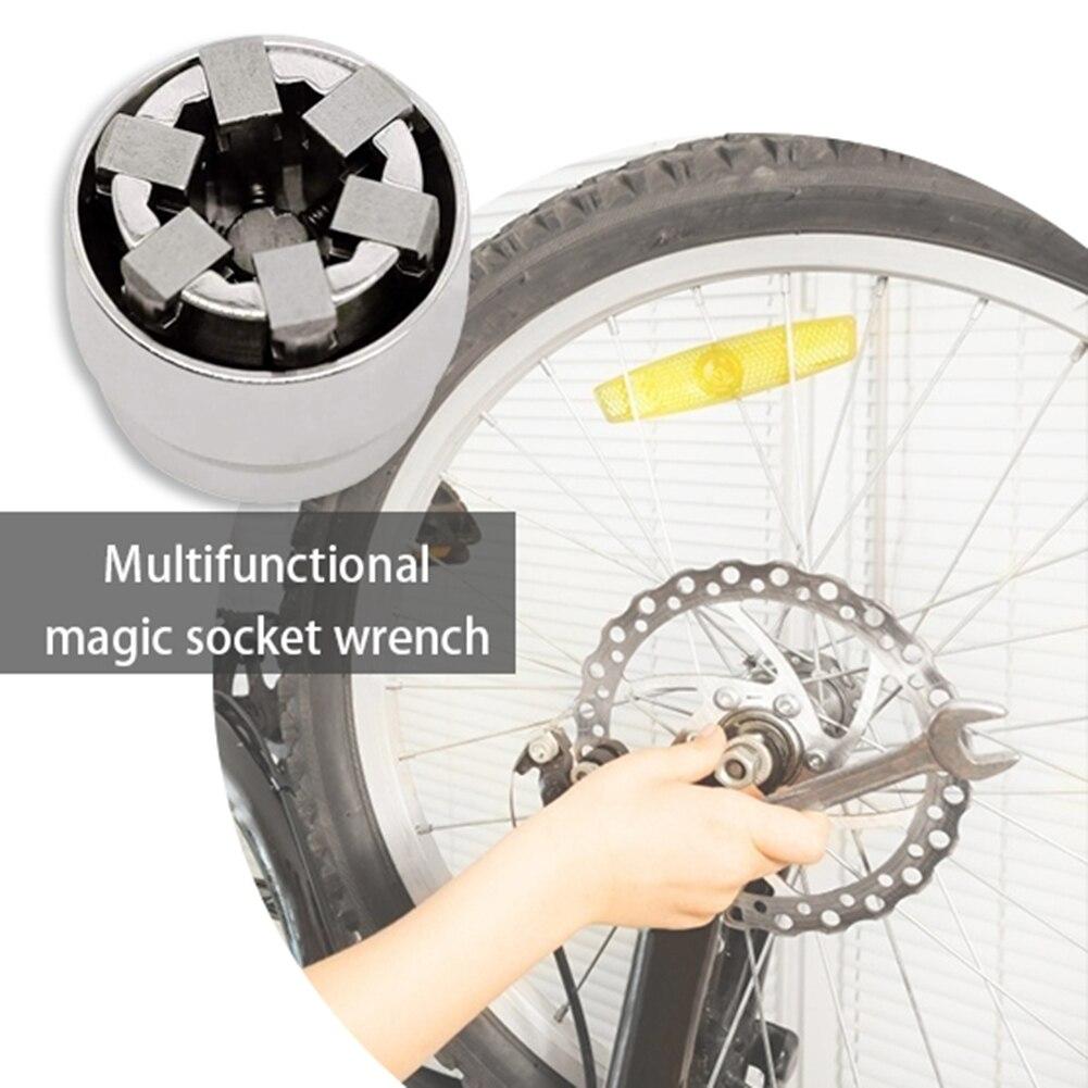 10-19mm universal manga soquete chave parafuso extrator multi mão ferramentas soquetes kit de ferramentas mão