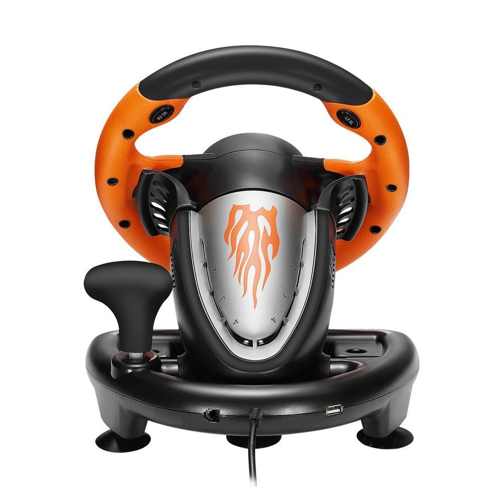 PXN V3II almohadilla de juego de carreras 180 grados volante vibración Joysticks...