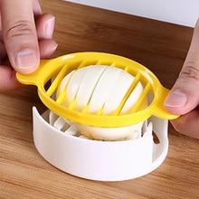 3 In 1 Multifunctional Egg Cutter Egg Slicers Cutting for Hard Boiled Fruit Garnish Egg Slicer Cooking Tools Kitchen Gadgets
