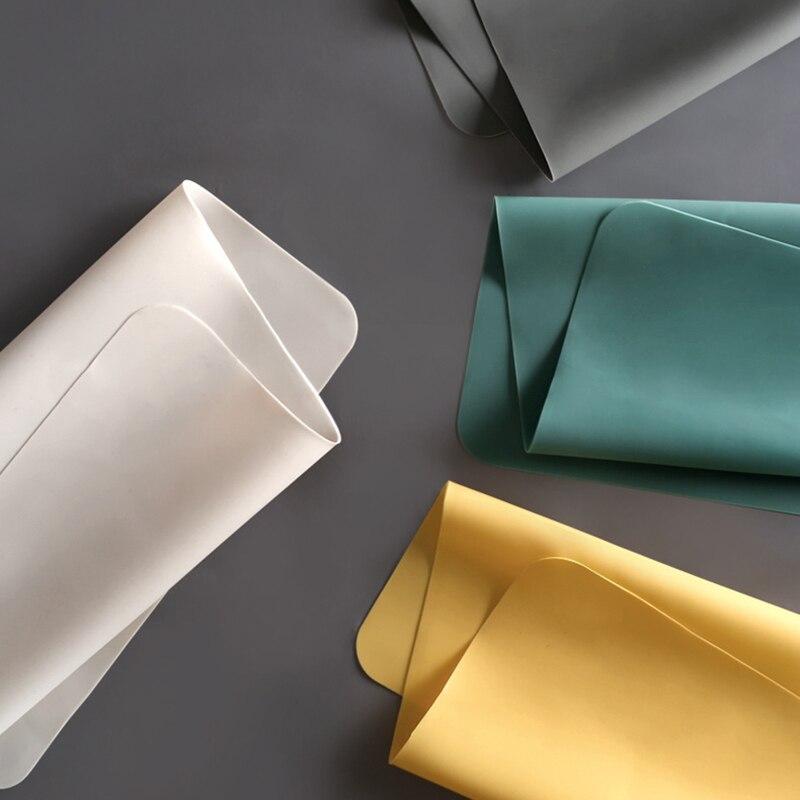 Novo silicone impermeável placemat esteira de mesa isolamento térmico anti-derrapagem lavável durável para cozinha jantar