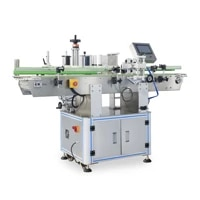 automatic positioning vertical round bottle labeling machine nc t 21200
