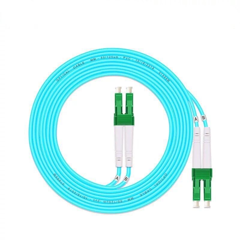 Envío Gratis LC/APC-LC/APC multimodo OM3 Cable de fibra multimodo dúplex puente de...