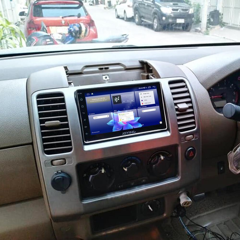 Купить с кэшбэком JOYING Android 10.0 Single din Car Radio Player 7/8/9 inch stereo head unit 4GB RAM&64GB RAM Support Carplay Steering Wheel  4G