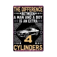 fix cars plaque shabby chic metal tin signs classic car wall art poster advertising plates bar garage vintage home decor mn117