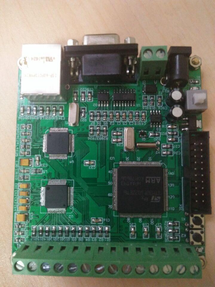 ADC de adquisición de AD7606 de 16 bits, 8 canales STM32 procesador de comunicación Ethernet