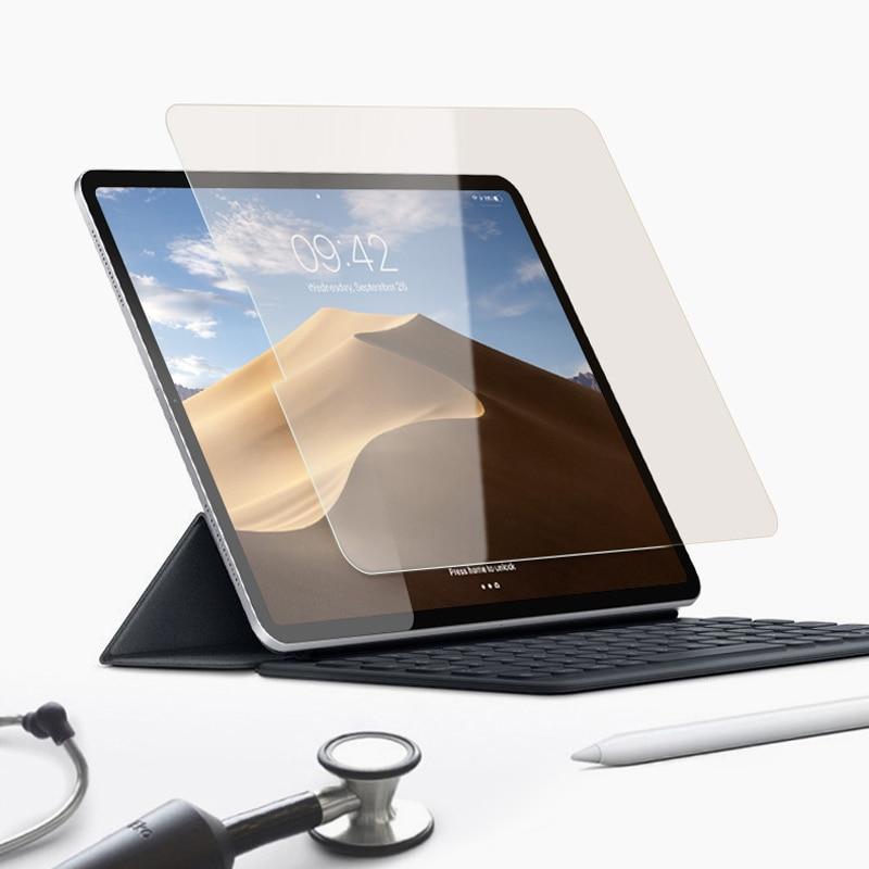 Vidrio Templado 9H para iPad Pro, 11 pulgadas, 2020 pulgadas, 2ª 2,5d, borde curvado, Protector de pantalla para iPad Pro, 11 pulgadas, película de 2018